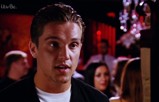 TOWIE, Lewis Bloor talks to Tom Pearce about George Harrison, ITVBe 22 October