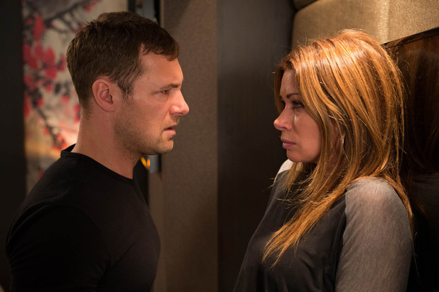 Corrie, Rob confesses to Carla, Mon 27 Oct