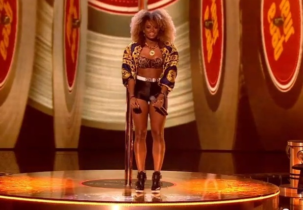 Fleur East performs on The X Factor - 18 October 2014