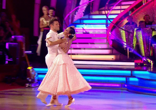 Mark Wright performs the Quickstep on Strictly, BBC One 18 September