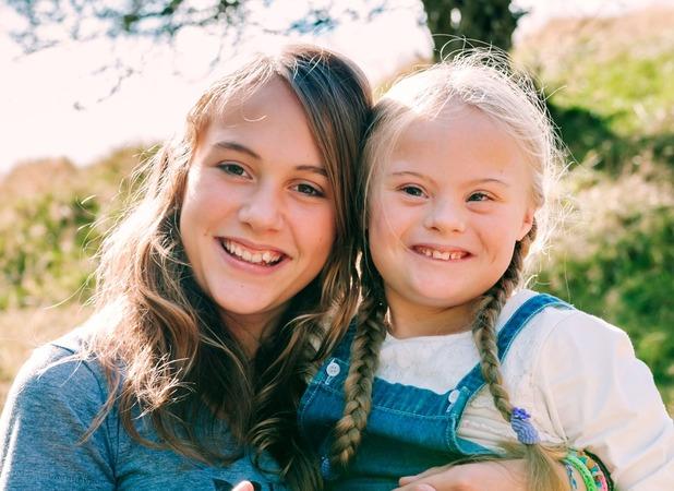 Anita Kolaczynska, I'm lucky to have a little sister like Magdalena