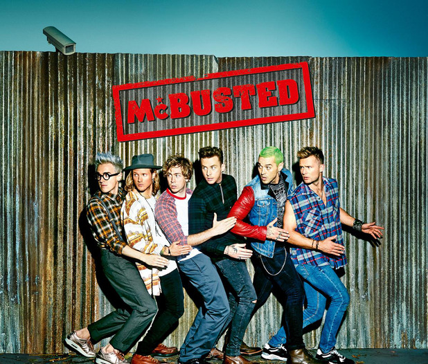 McBusted announce release date for self-titled album McBusted - 24 Oct 2014