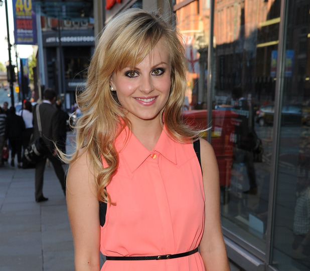 Tina O'Brien at the Rocky Horror show 40th Anniversary press night at Palace Theatre - Arrivals 06/19/2013