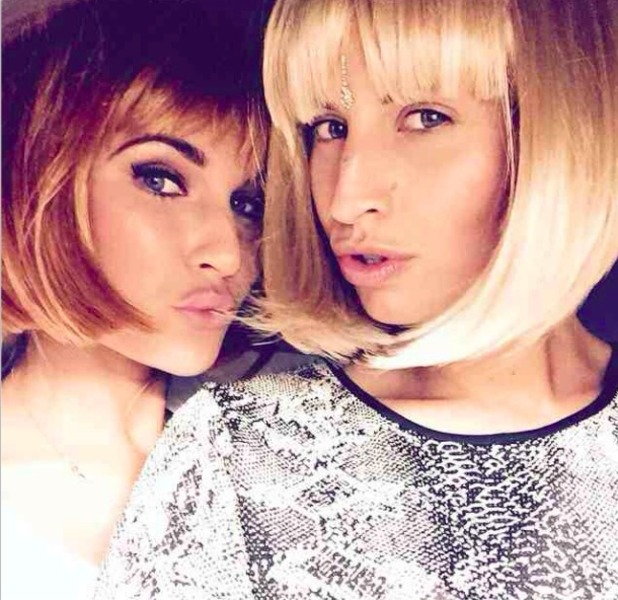 Billie Faiers and Ferne McCann switch up their looks! 25 October 2014