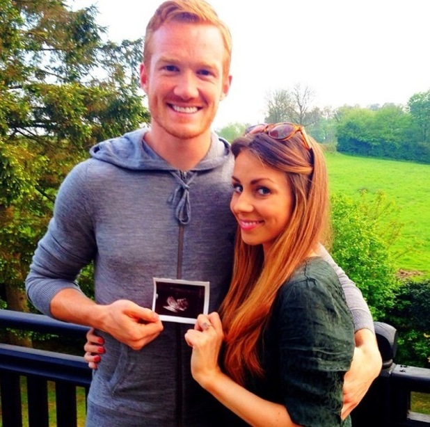 Greg Rutherford announces girlfriend is expecting first child 29 April
