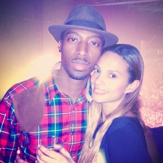 Alesha Dixon and dancer boyfriend Azuka Ononye - 11 October 2014