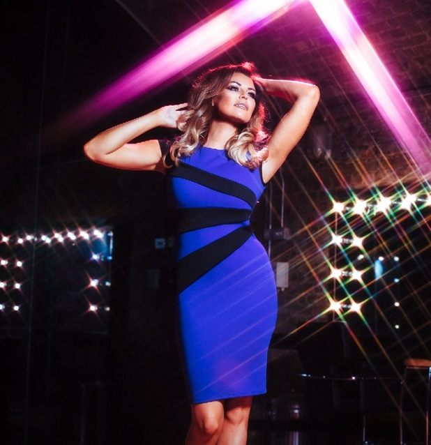 TOWIE's Jessica Wright models her new partywear clothing collection for Lipstick Boutique - 21 October 2014