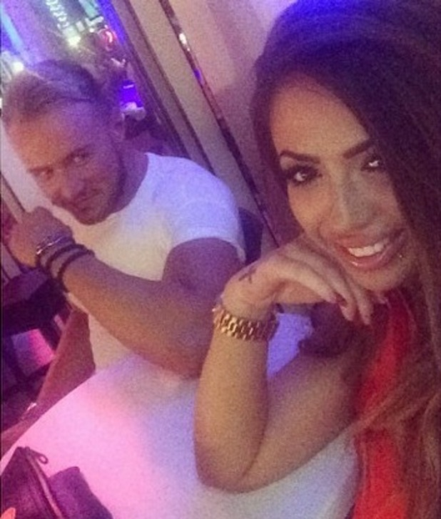 Holly Hagan and Kyle Christie on holiday in Tenerife 21 October