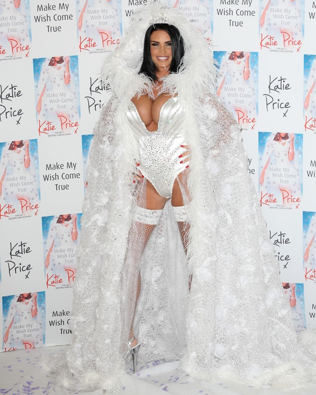 Katie Price launches her 10th novel 'May your wish come true' at the Worx - Arrivals - 22 Oct 2014