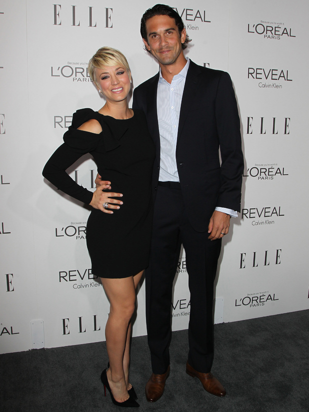 Kaley Cuoco-Sweeting and Ryan Sweeting attend Elle's 21st Annual Women In Hollywood Awards, Beverly Hills, LA 20 October