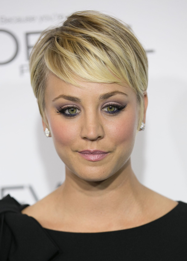 Kaley Cuoco-Sweeting. Celebrities attend ELLE's 21st Annual Women in Hollywood Celebration at the Four Seasons Hotel, 21 October 2014