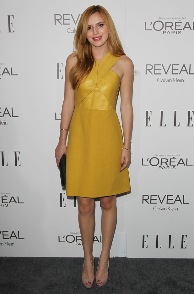 Bella Thorne attends the ELLE Women in Hollywood Awards in Los Angeles, America - 20 October 2014