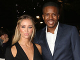 TOWIE's Lauren Pope and Vas J. Morgan made a stylish pair at the MOBO Awards.