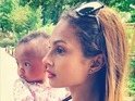 Alesha Dixon and daughter Azura Sienna enjoy a holiday in Paris, France - 24 October 2014