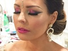 How to do Jess Wright's sparkly pink eye make-up at TOWIE Diwali party