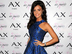 Lucy Mecklenburgh looks glam in metallic blue dress at charity ball