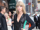 Taylor Swift wears green and black dress perfect for spooky season!