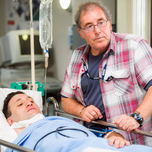 Casualty Series 29. Transmission Date: 01/11/2014 Antony Costa as Matthew.