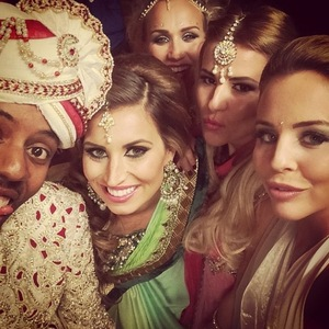TOWIE stars celebrate Diwali at Sugar Hut, Essex - 26 Oct 2014