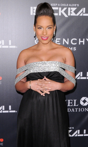 Alicia Keys attends Keep A Child Alive's 11th Annual Black Ball, Manhattan 30 October