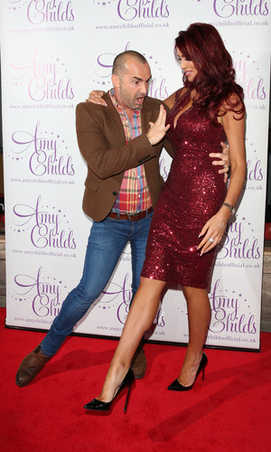 Amy Childs and Louie Spence at Amy Childs clothing collection 3rd birthday party, London 27 October