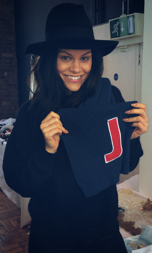 Jessie J support Matalan's Christmas charity campaign in aid of Alder Hey Children's Hospital. October 2014.