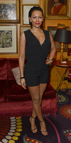 Mel B at the launch for A String Of Naked Lightbulbs documentary, Annabel's, London 28 October