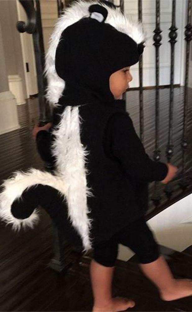 Kim Kardashian posts super cute snap of North on Instagram 21/10/2014