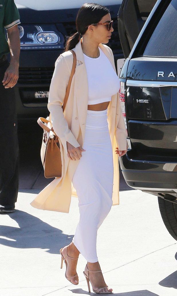 Kim Kardashian and sisters out and about, Malibu, California, America - 29 Oct 2014