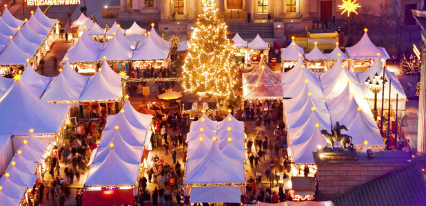 Christmas market image - iStock - Nivea advertorial