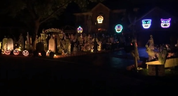 Michael Jackson Halloween house show in Naperville