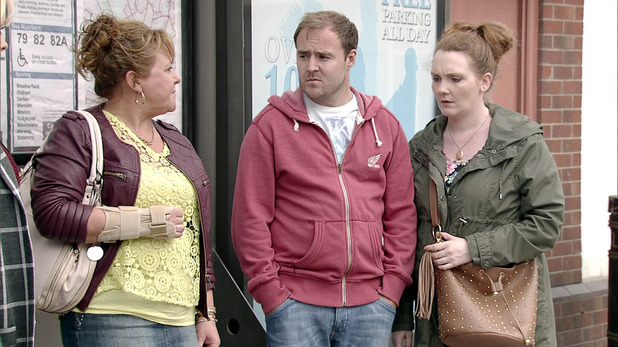 Corrie, Will Cilla leave? Wed 29 Oct