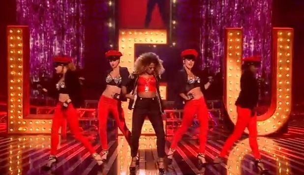 Fleur East performs on The X Factor - 25 October 2014