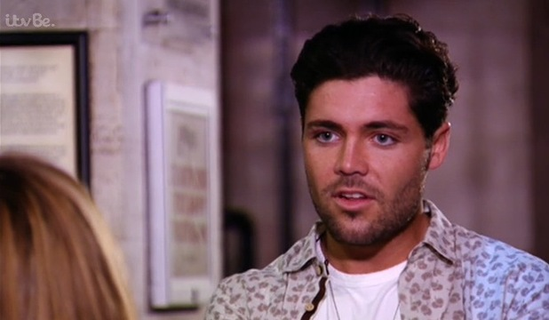 Tom Pearce confronts Fran Parman, TOWIE 29 October