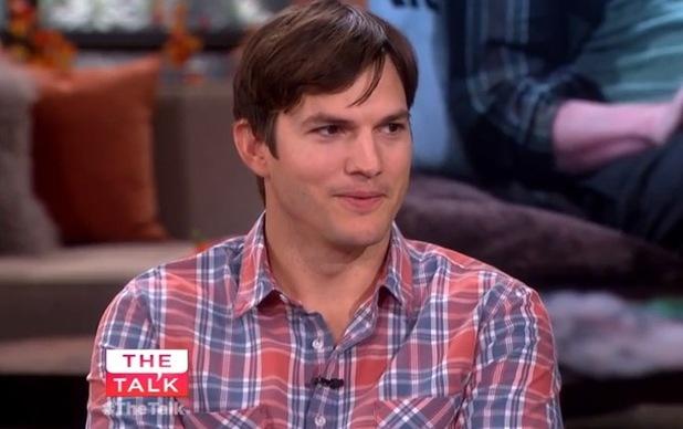 Ashton Kutcher appears on The Talk 29 October