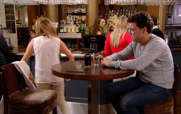 The Only Way Is Essex - James 'Diags' Bennewith meets up with Fran in a bar. Airs: 29 October.