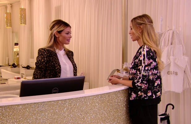 The Only Way Is Essex - Chloe Sims and Lauren Pope talk. Airs: 29 October.