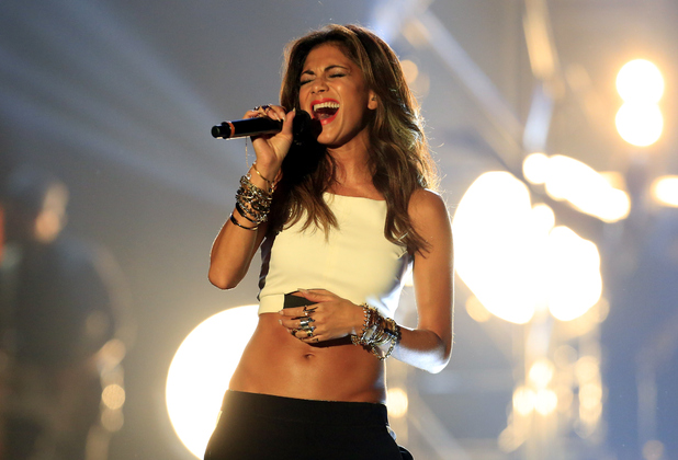 Nicole Scherzinger performs onstage at the MOBO Awards at SSE Arena on October 22, 2014 in London, England.