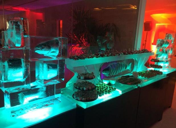 Luisa Zissman posts picture of sushi bar at her engagement party! 1 November 2014