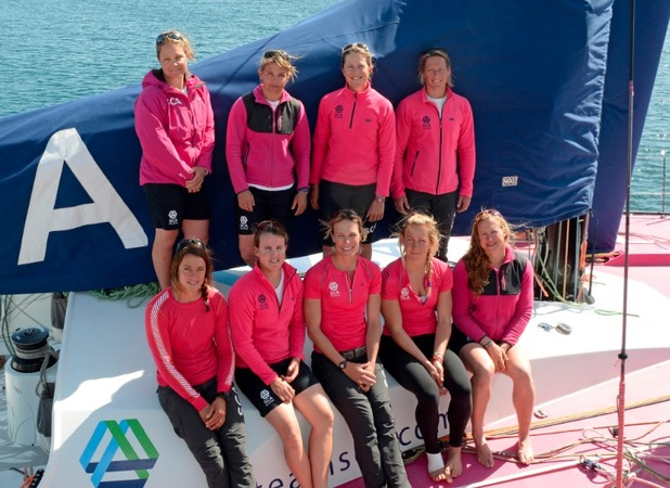 All-female team attempt the Volvo Ocean Race