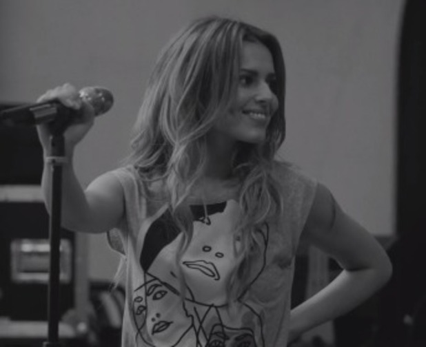 Cheryl Fernandez-Versini records acoustic version of album title track Only Human