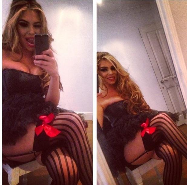 Fran Parman dresses up for Halloween 29 October