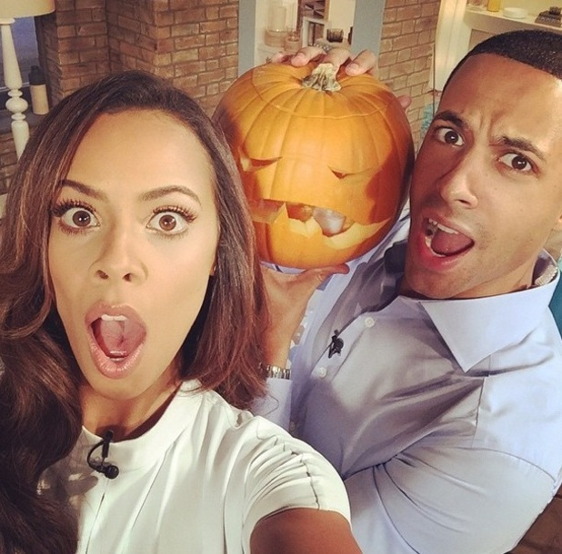 Rochelle Humes and Marvin Humes present This Morning, ITV 31 October
