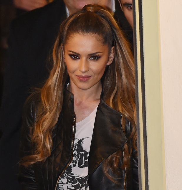 Cheryl Cole and X Factor judges leaving Fountain Studios, 19 October 2014