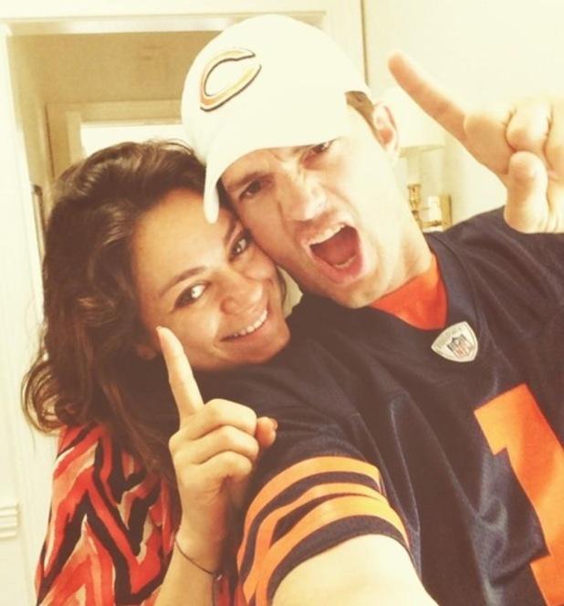 Ashton Kutcher and Mila Kunis 7 September