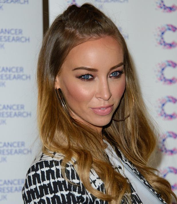 Lauren Pope, James' Jog On To Cancer Event - Arrivals Where: London, United Kingdom When: 9 April 2014