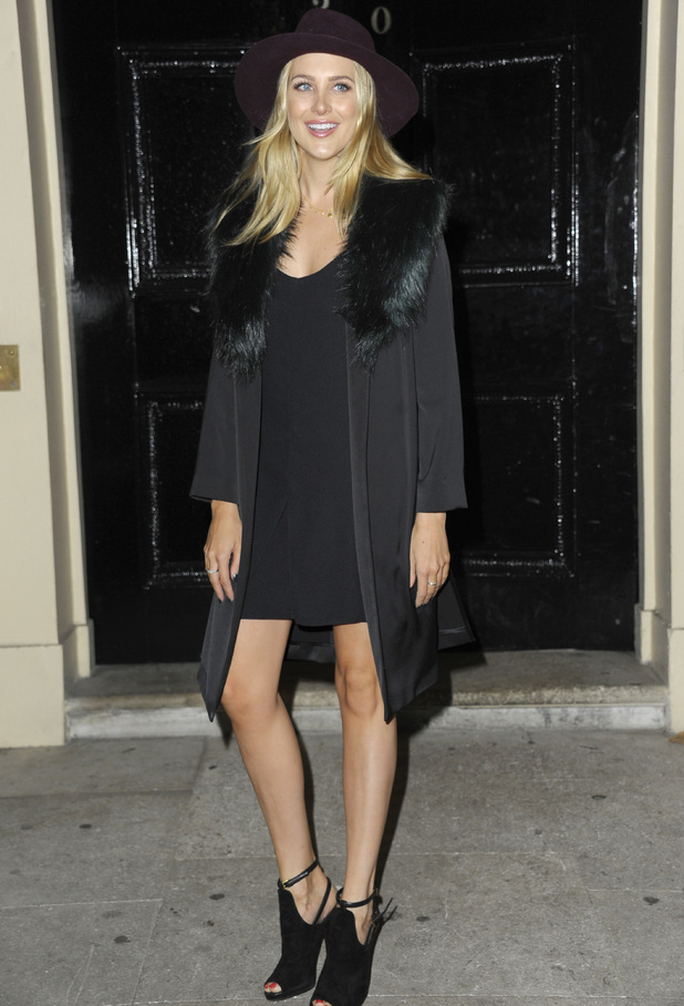 Stephanie Pratt, Launch of Boux Avenue: Love Christmas held at Home House, Portman Square, London 27 October