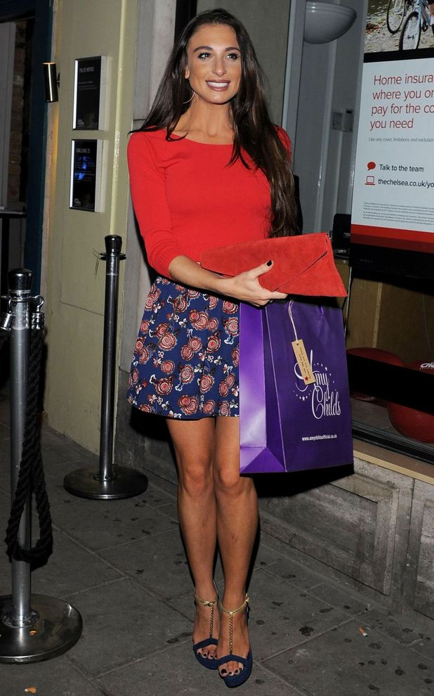 Former TOWIE star Grace Andrews at Amy Childs Clothing - 3rd Anniversary Party, London, Britain - 27 Oct 2014.