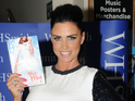 Katie Price attends a signing for her new book, Make My Wish Come True, in London - 24 October 2014