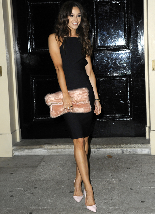 Danielle Peazer at Boux Avenue launch on 27 October 2014
